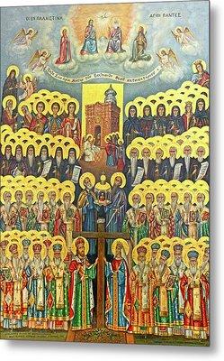 Orthodox Holy Saints 1882 Metal Print