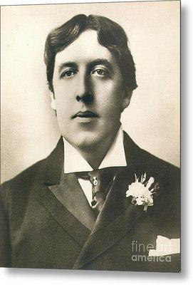Oscar Wilde Metal Print by Granger