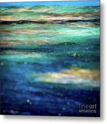 Osprey Reef Metal Print by Doug Sturgess