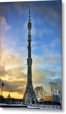 Ostankino Tower Metal Print