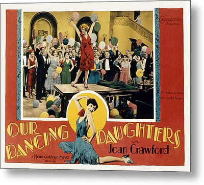 Our Dancing Daughters, Joan Crawford Metal Print