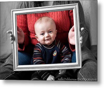 Our Grandson Metal Print