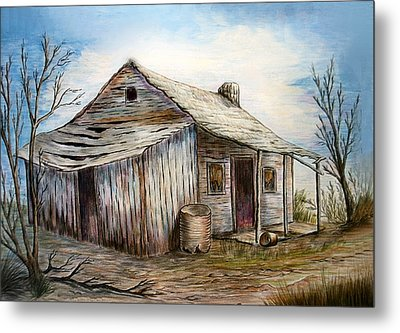 Our House Metal Print by Sue Ireland