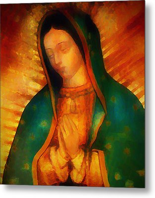 Our Lady Of Guadalupe Metal Print by Bill Cannon