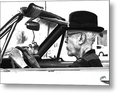 Metal Print featuring the photograph Out For A Spin by Joe Jake Pratt