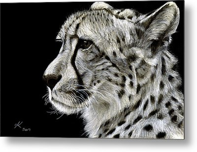 Out Of Africa Metal Print by Kyla Heumann