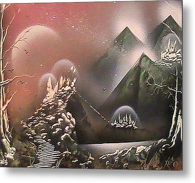 Outer Limits Metal Print by My Imagination Gallery