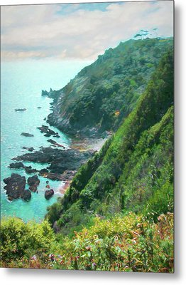 Metal Print featuring the photograph South End Of Guernsey by Bellesouth Studio