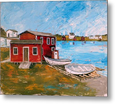 Outport 1 Metal Print