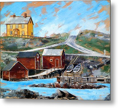 Outport 2 Metal Print