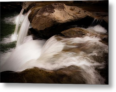 Over The River Metal Print by Tamyra Ayles