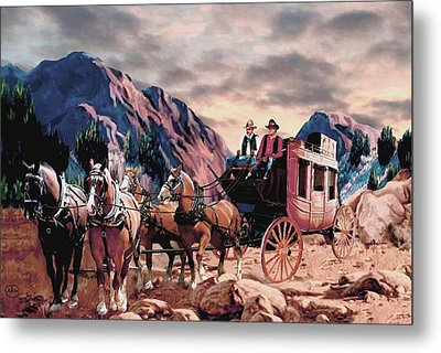 Overland Trail Metal Print by Ron Chambers