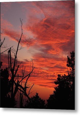 Metal Print featuring the photograph Ozark Dawn by Michael Dougherty
