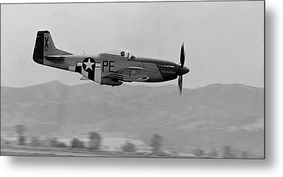 P-51d Metal Print by BuffaloWorks Photography