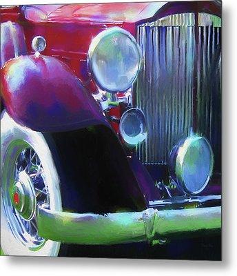Packard Close Up Metal Print