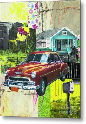 Packard Metal Print by Elena Nosyreva