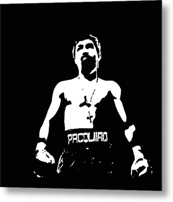 Pacquiao Metal Print by Elvin Dantes