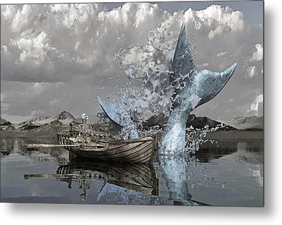 Paint Me Silly Metal Print by Betsy Knapp