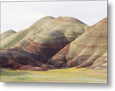 Painted Hills Metal Print by Greg Vaughn - Printscapes