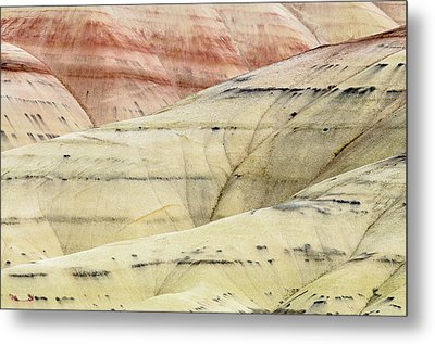 Painted Hills Ridge Metal Print by Greg Nyquist