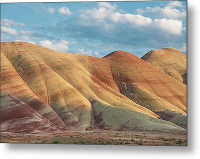 Painted Ridge And Sky Metal Print by Greg Nyquist