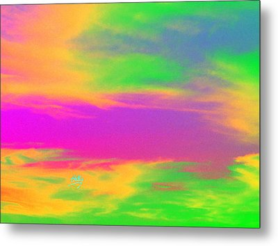 Painted Sky - Abstract Metal Print