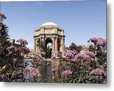Metal Print featuring the photograph Palace Of Fine Arts by Denise Pohl