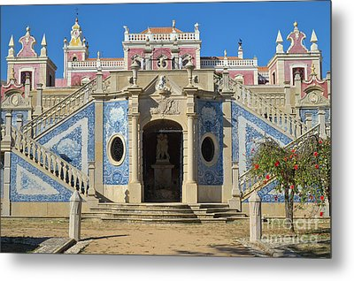 Palacio De Estoi Front View Metal Print