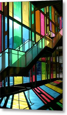 Palais Des Congres Montreal Canada Metal Print by Pierre Leclerc Photography