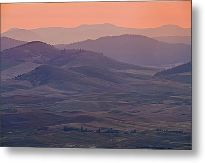 Palouse Morning From Steptoe Butte Metal Print by Donald E. Hall