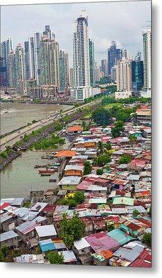 Panama City Metal Print by Iris Greenwell