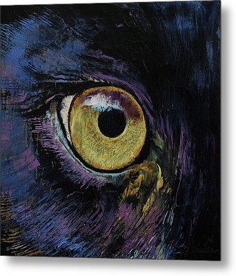 Panther Eye Metal Print