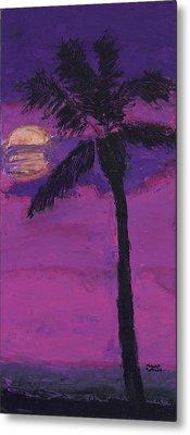 Paradise Palm Metal Print by Maggie  Morrison