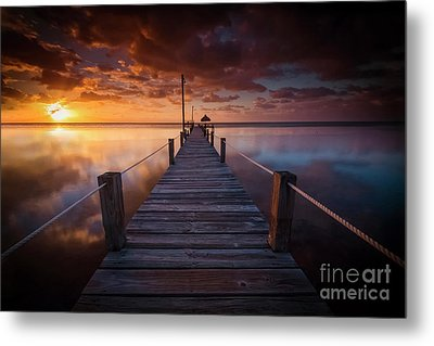 Paradise Sunrise  Metal Print by Marco Crupi