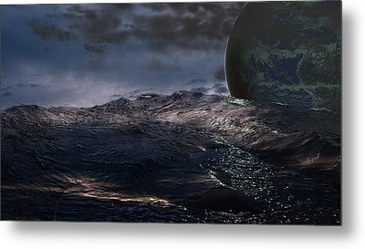 Parallel Universe In Discord Metal Print