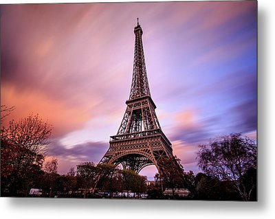 Metal Print featuring the photograph Paris Pastels by Jennifer Casey