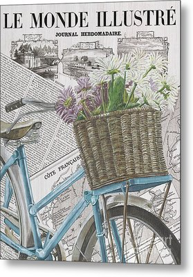 Paris Ride 1 Metal Print by Debbie DeWitt