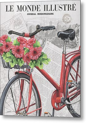 Paris Ride 2 Metal Print by Debbie DeWitt