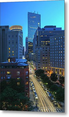 Metal Print featuring the photograph Park Plaza Hotel Boston by Juergen Roth