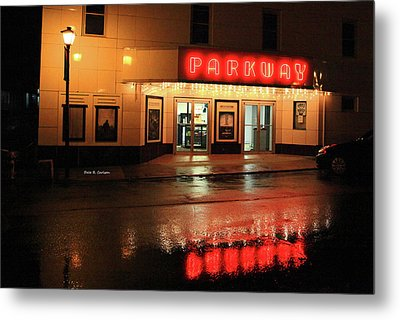 Parkway Night Metal Print