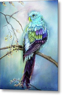Parrot Metal Print by Loretta Luglio