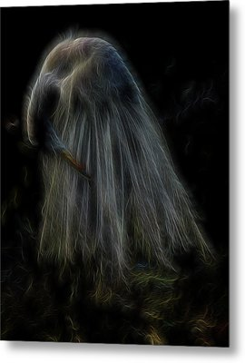 Passion Of Prayer Metal Print by William Horden