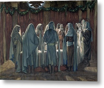 Passover Metal Print by Tissot