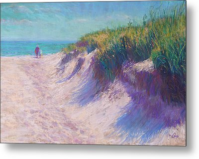Past The Dunes Metal Print by Michael Camp