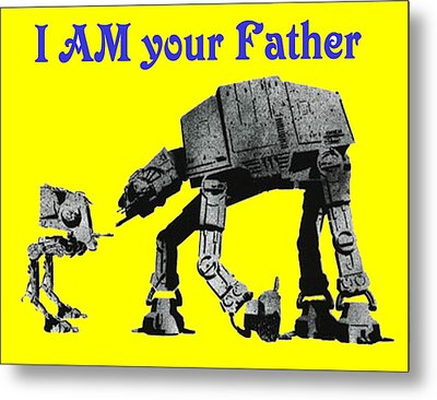 Paternal Declaration Metal Print by Paul Van Scott