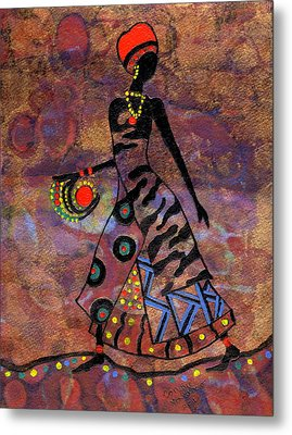 Path To Healing        Metal Print by Connie Valasco