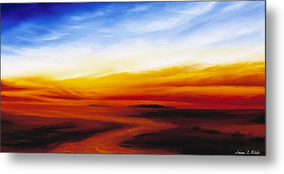 Path To Redemption Metal Print by James Christopher Hill