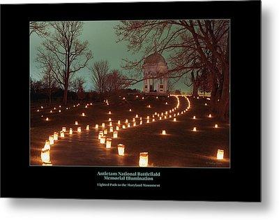 Path To The Md Monument 07 Metal Print by Judi Quelland