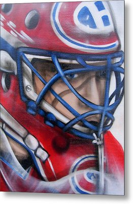 Patrick Roy ... Metal Print by Juergen Weiss