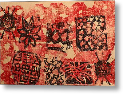 Patterns And Surfaces Metal Print by Biagio Civale